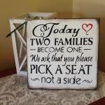 Wedding Signs/today Two Fa..